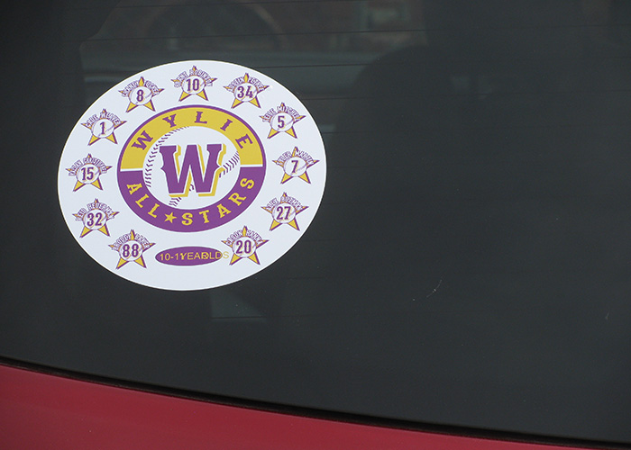 Wylie All-Stars - Sports Decals