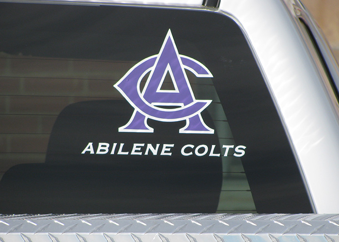 Abilene Colts - Sports Decal